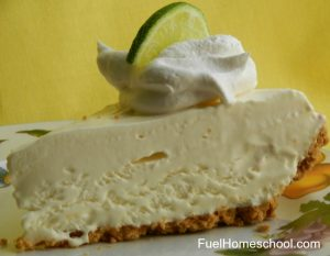 Key Lime Pie - Fuel Homeschool
