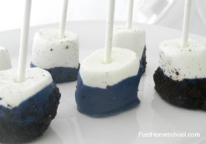 Marshmallow Pops - Fuel Homeschool